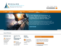ROBERT WIEGAND II website screenshot