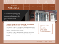 WILLIAM KAY JR website screenshot