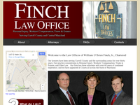 WILLIAM FINCH website screenshot