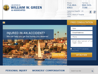 WILLIAM GREEN website screenshot