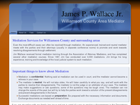 JAMES WALLACE JR website screenshot