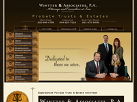 CHRISTOPHER WINTTER website screenshot