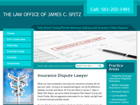 JAMES SPITZ website screenshot