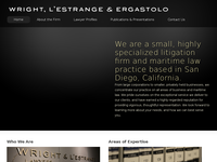 JOHN L'ESTRANGE JR website screenshot
