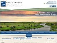 ROBERT WRIGHT website screenshot