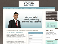 ERIC YOCUM website screenshot