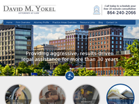 DAVID YOKEL website screenshot