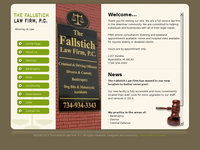 ZACHARY FALLSTICH website screenshot