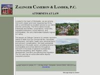 PHILIP ZALINGER JR website screenshot