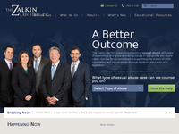 IRWIN ZALKIN website screenshot