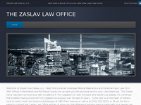 GARY ZASLAV website screenshot