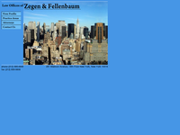 JEFFREY ZEGEN website screenshot