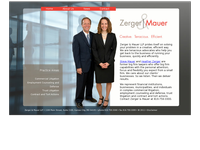 HEATHER ZERGER website screenshot