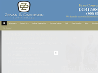 DAVID ZEVAN website screenshot