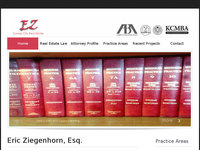 ERIC ZIEGENHORN website screenshot