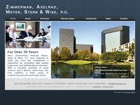 ALVIN ZIMMERMAN website screenshot