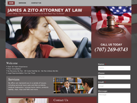 JAMES ZITO website screenshot