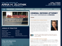 ARNA ZLOTNIK website screenshot