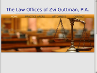 ZVI GUTTMAN website screenshot