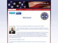 MICHAEL GAYLOSO website screenshot