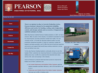 EVAN PEARSON website screenshot