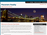 RAYMOND PECORARO website screenshot