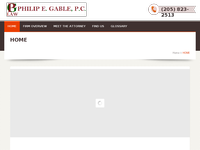 PHILIP GABLE website screenshot