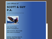 CRAIG SCOTT website screenshot