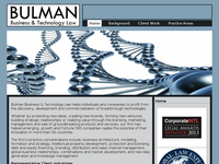 Richard C. Bulman Jr. website screenshot