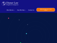 Richard Bert Diener website screenshot